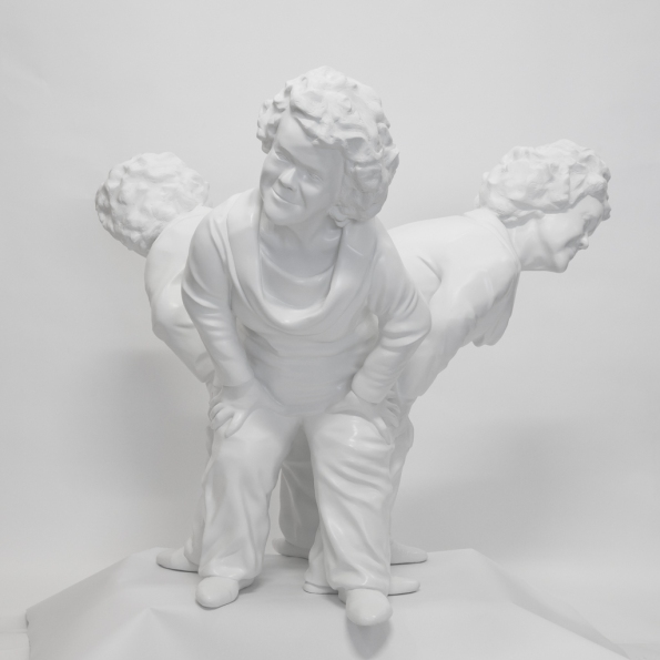 """Condescension"" 3D Print: Debra Keenahan"