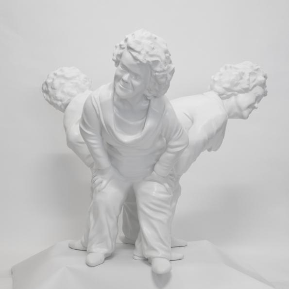 """Condescension"" 3D Print: Debra Keenahan"